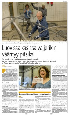 News article in Finnish